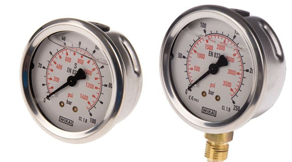 استفاده از فشار سنج آب