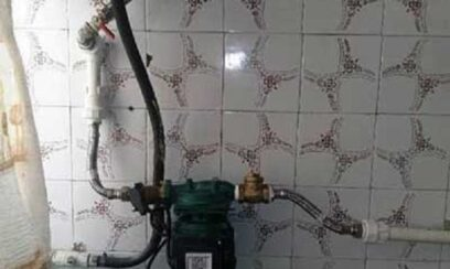نحوه نصب پمپ آب مخصوص فشار آب آبگرمکن دیواری